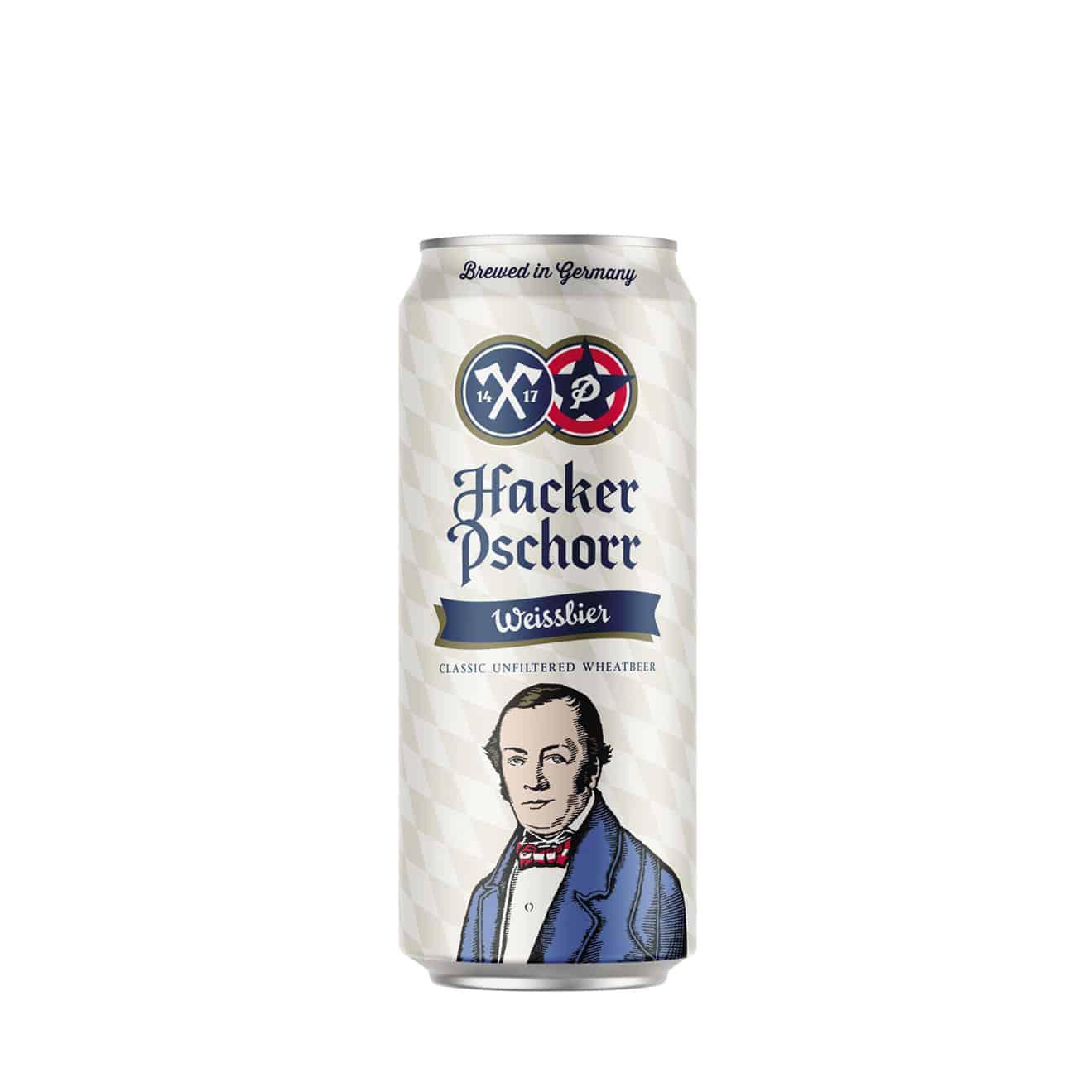 Hacker Pschorr Weissbier 0,50l