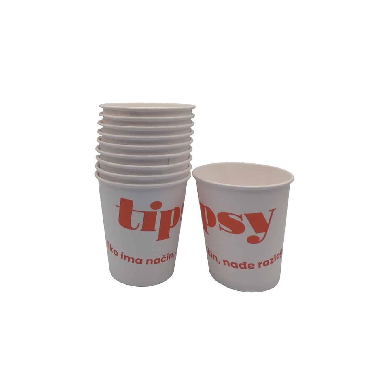 Papirnate čaše Tipsy 0,3l 10kom