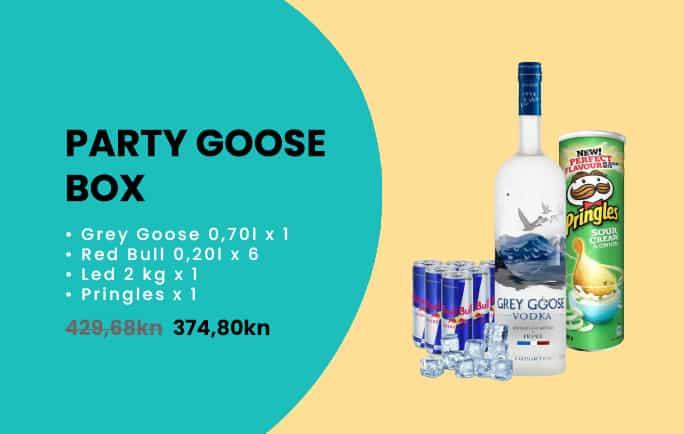 Party goose box